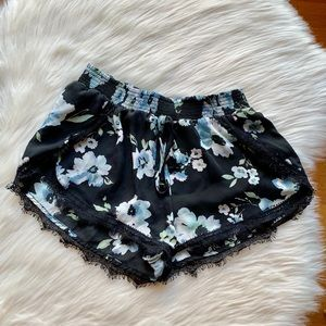 Black/Blue/White Band of Gypsies Shorts